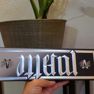 limited edition Kat Von D Metal Matte palette